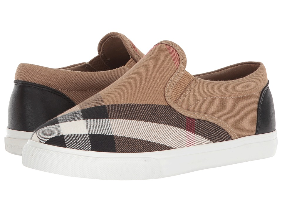 Burberry Kids - Linus ABDYQ Shoe (Toddler/Little Kid) (Classic/Optic White) Kids Shoes