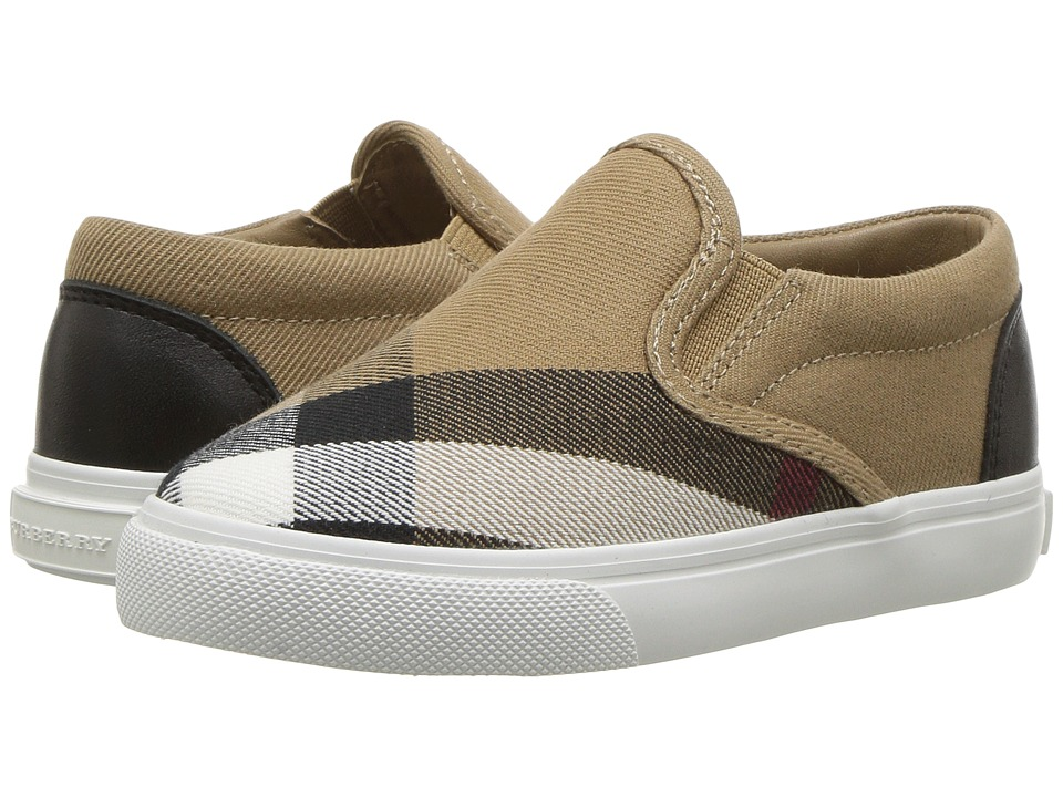 Burberry Kids - Linus ABDYQ Shoe (Toddler) (Classic/Optic White) Kids Shoes