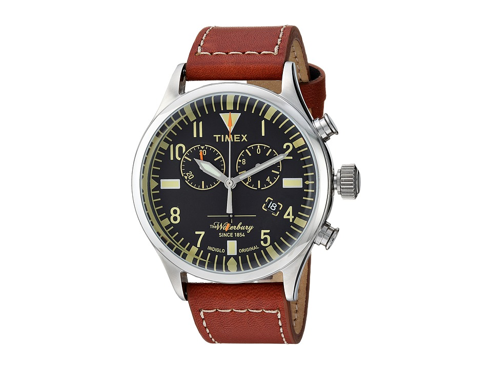 Timex - Waterbury Traditional Chrono (Brown/Black) Watches