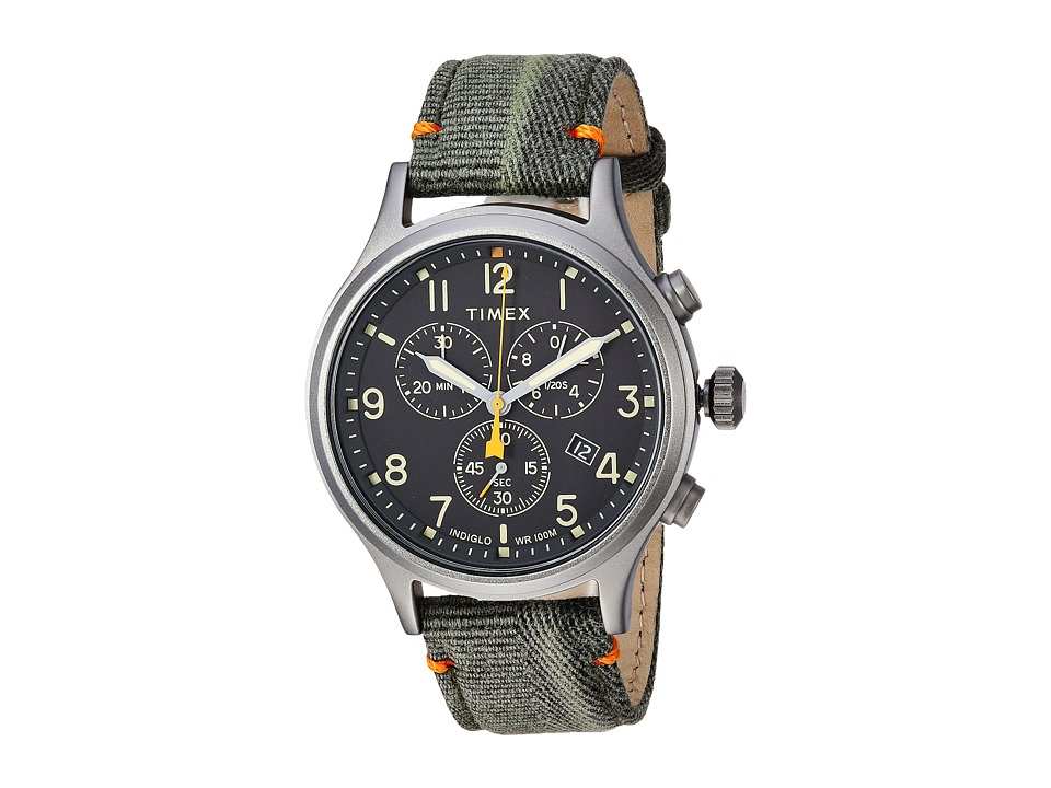 Timex - Allied Chrono Canvas (Olive/Black) Watches