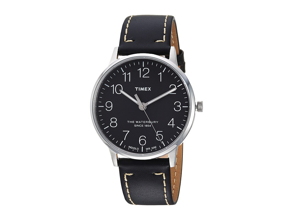 Timex - Waterbury Classic 40 (Black/Black) Watches