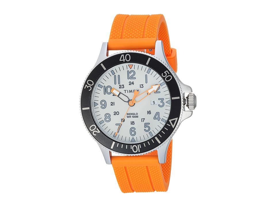 Timex Allied Coastline Silicone (Orange/Grey) Watches