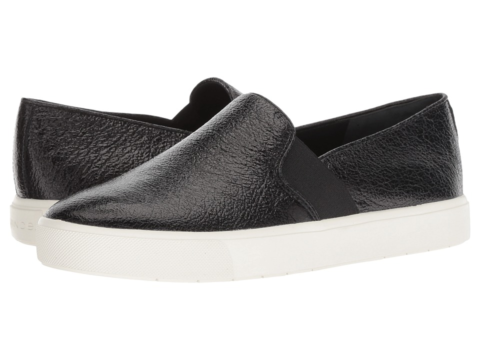Vince Blair-12 (Black Crinkle Patent) Slip-On Shoes