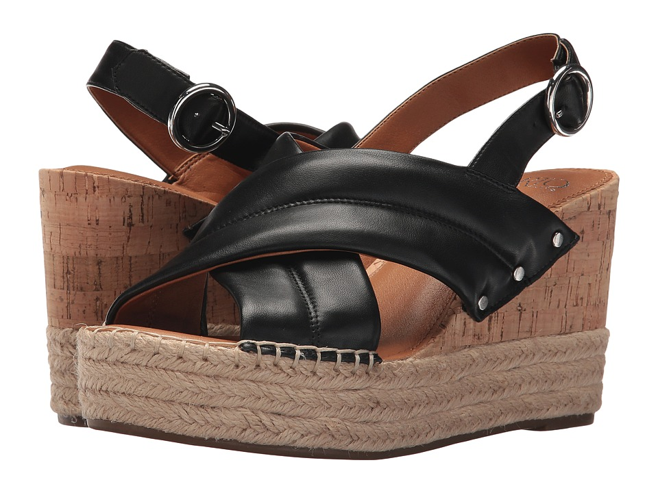 Franco Sarto - Niva by SARTO (Black) Women's Sandals