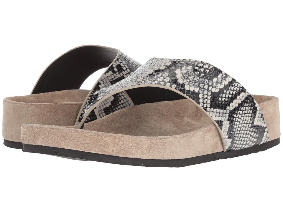 Vince Padma (Sahara Azzura Snake Print Leather) Women's Shoes