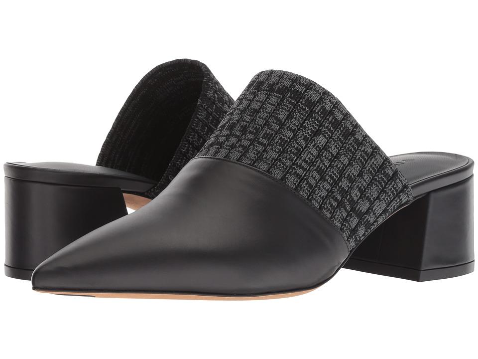 Vince Raven (Black/Grey Siviglia Calf) Women's Shoes