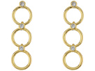 Kate Spade New York Chain Reaction Delicate Linear Earrings