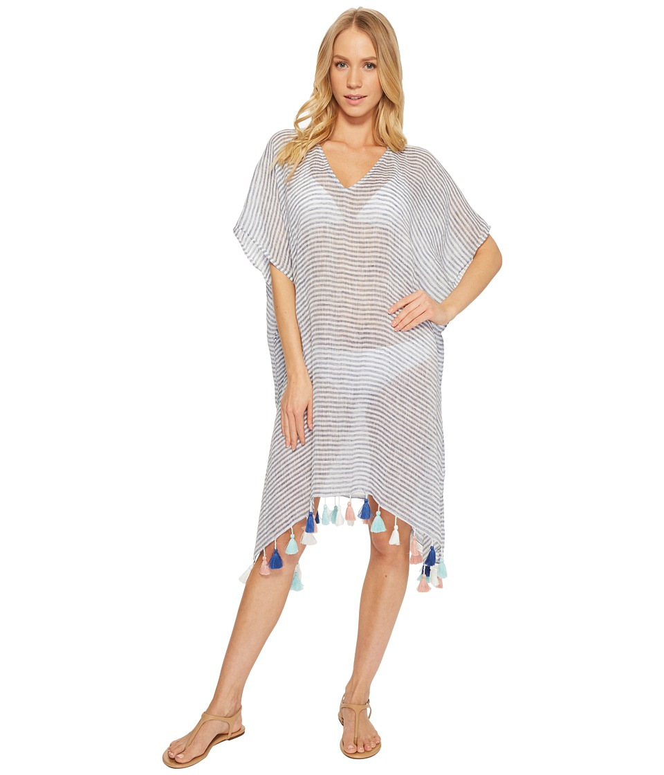 Seafolly Bali Hai Linen Stripe Kaftan Cover-Up 53281-KA-463