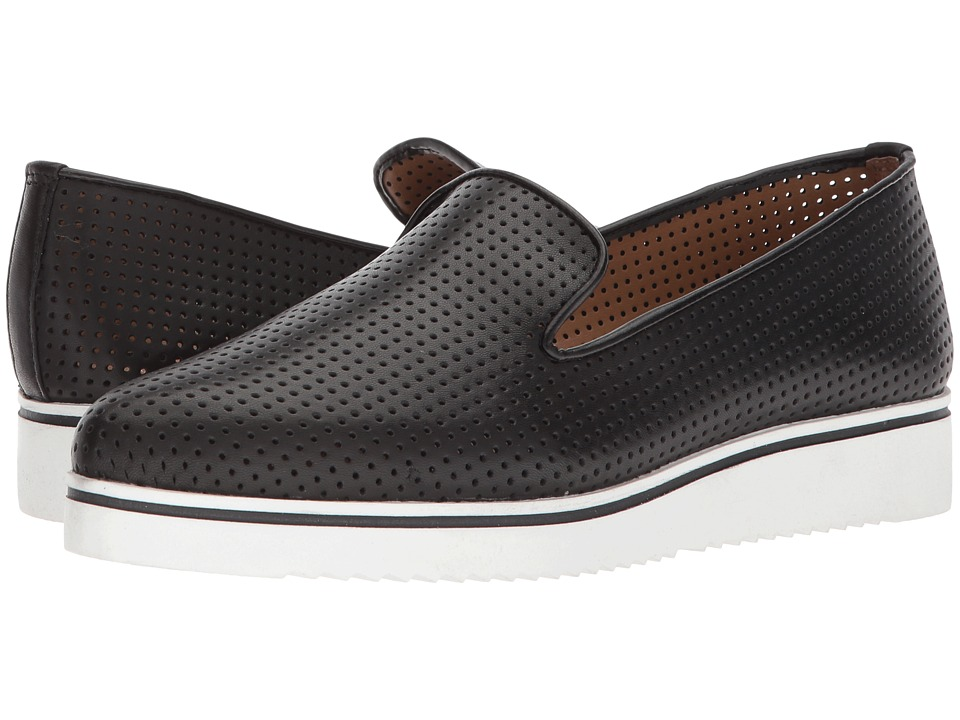 Franco Sarto - Fabrina 2 (Black Leather) Womens Shoes