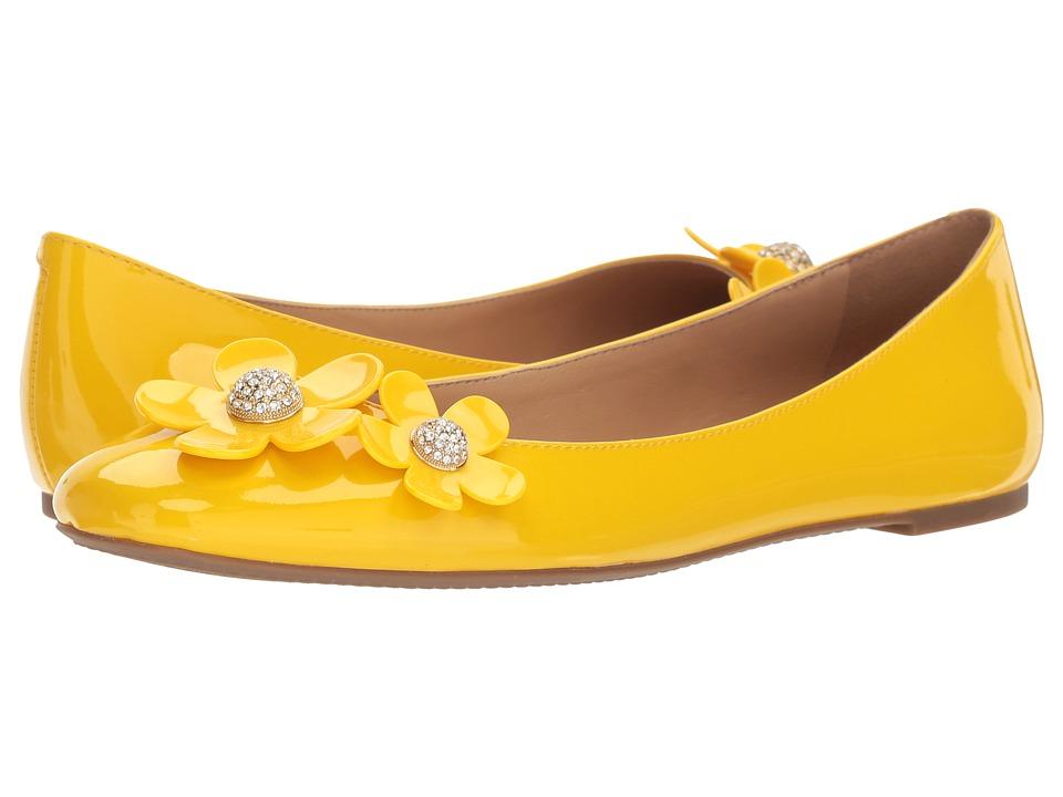 Marc Jacobs Daisy Ballerina Flat (Yellow) Women's Shoes