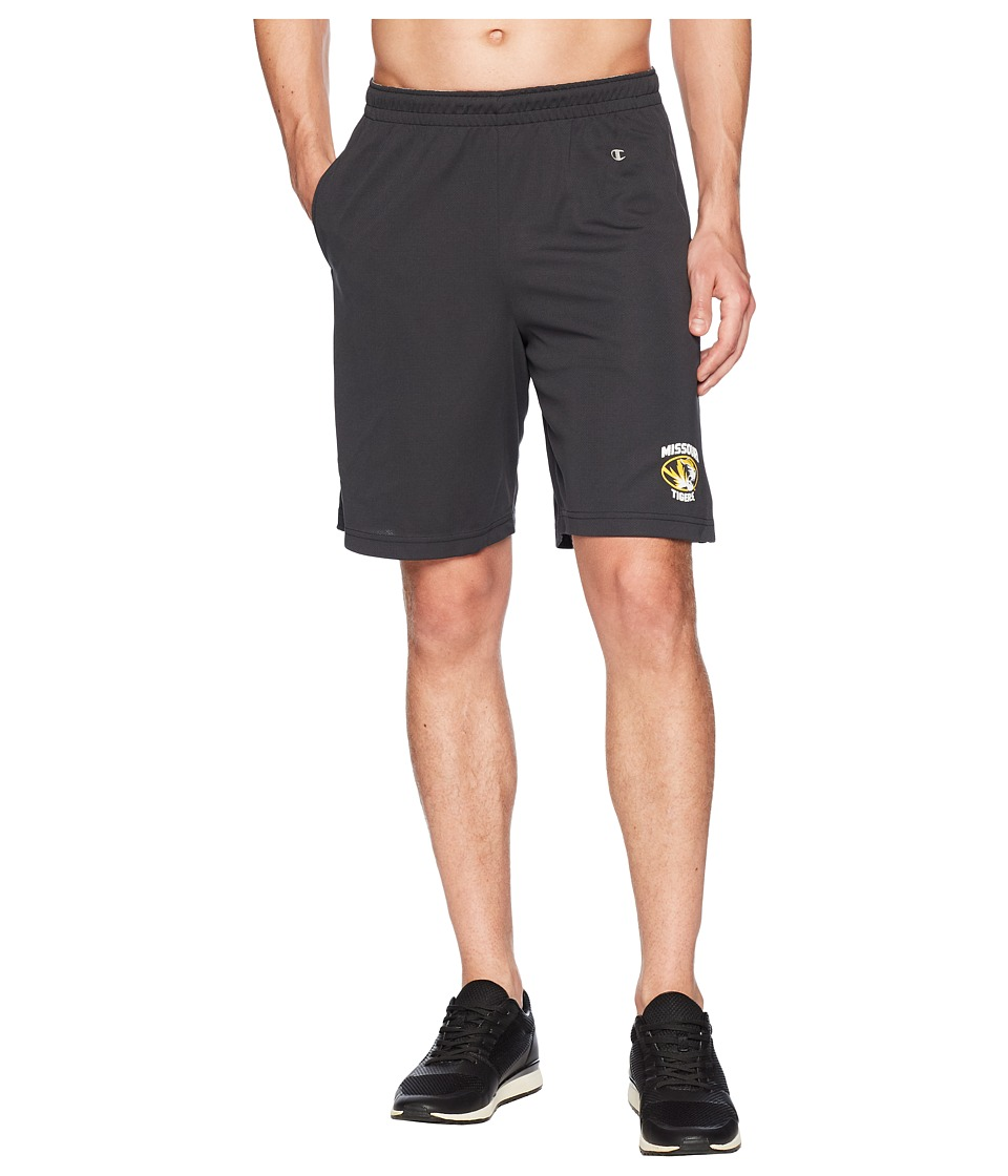 Champion College - Missouri Tigers Mesh Shorts (Black) Mens Shorts