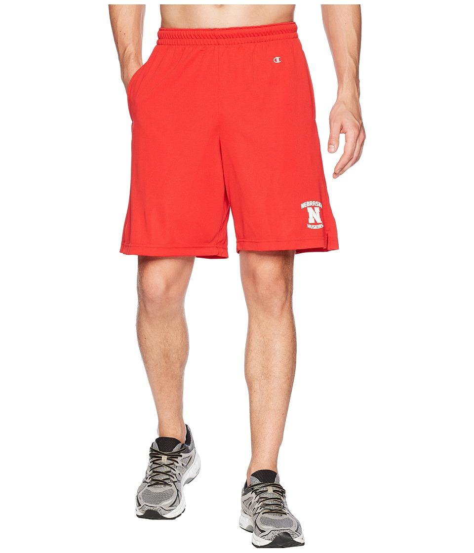 Champion College - Nebraska Cornhuskers Mesh Shorts (Scarlet) Mens Shorts