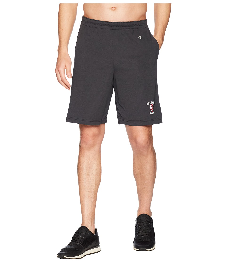 Champion College - Oklahoma Sooners Mesh Shorts (Black) Mens Shorts