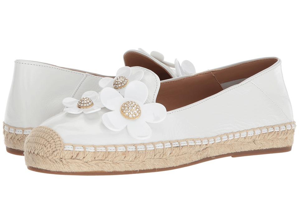 Marc Jacobs Daisy Flat Espadrille (White) Women's Shoes