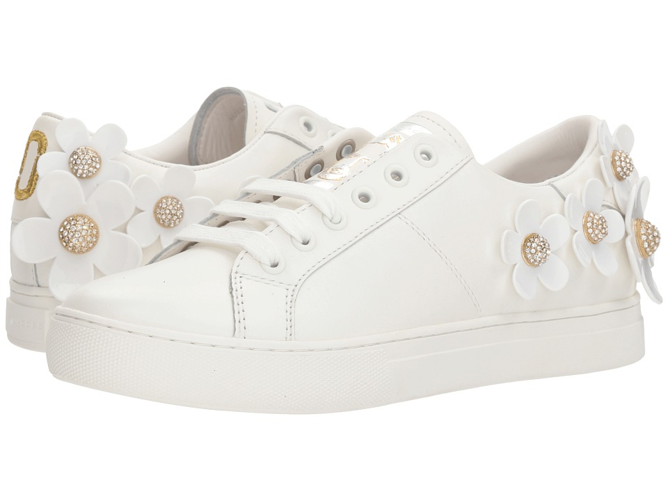 Marc Jacobs - Daisy Sneaker (White) Womens Shoes
