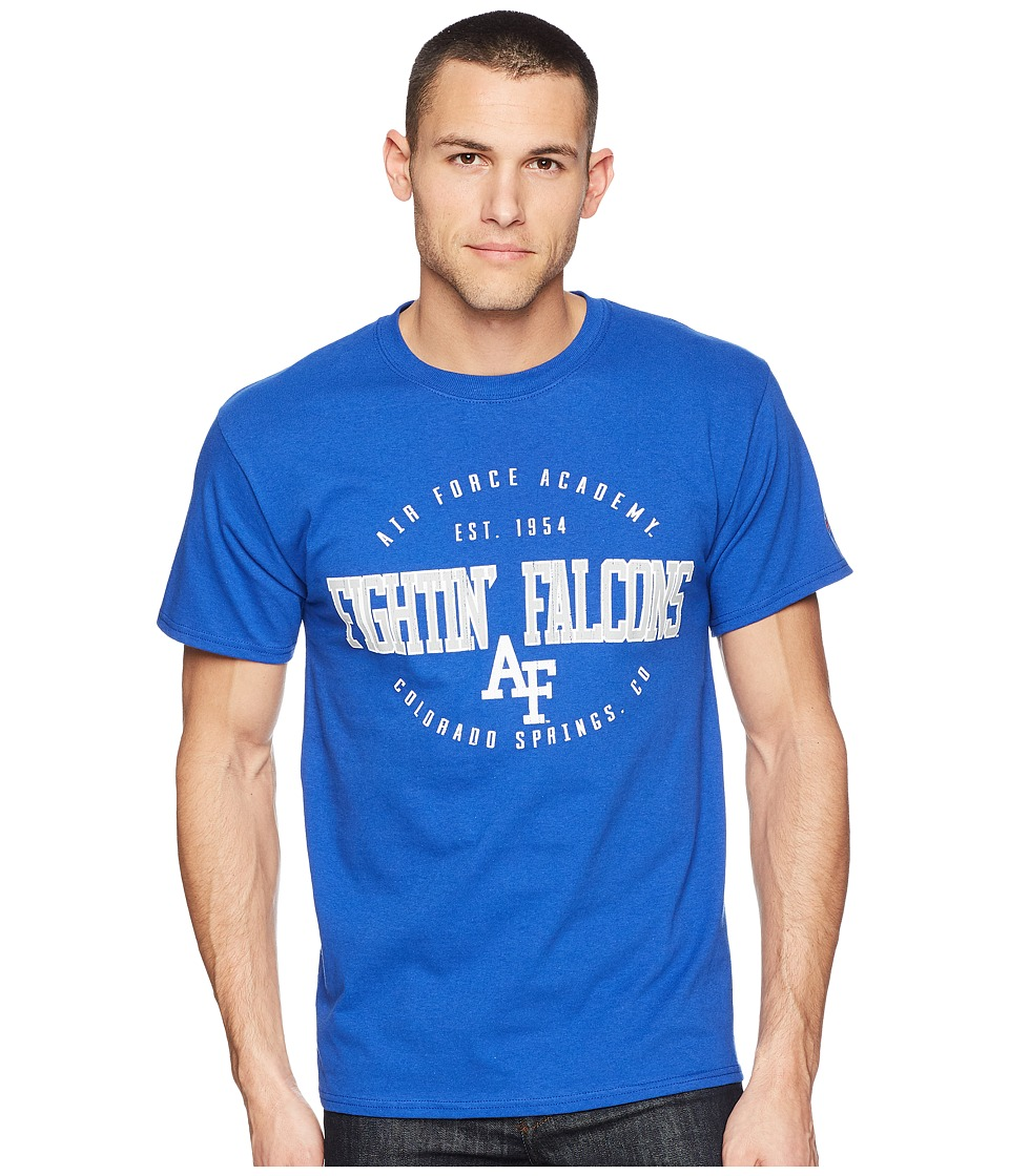 Champion College - Air Force Falcons Jersey Tee 2 (Royal) Mens T Shirt