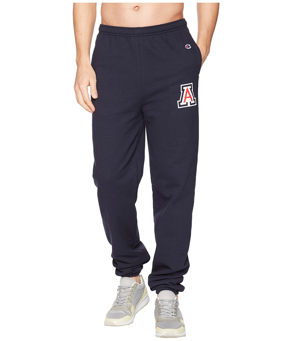 Champion College - Arizona Wildcats Eco(r) Powerblend(r) Banded Pants (Navy) Mens Casual Pants