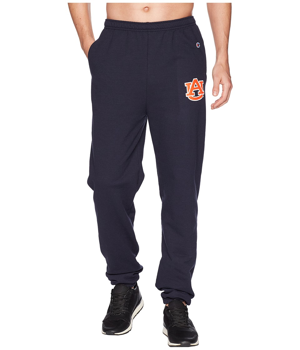 Champion College - Auburn Tigers Eco(r) Powerblend(r) Banded Pants (Navy) Mens Casual Pants