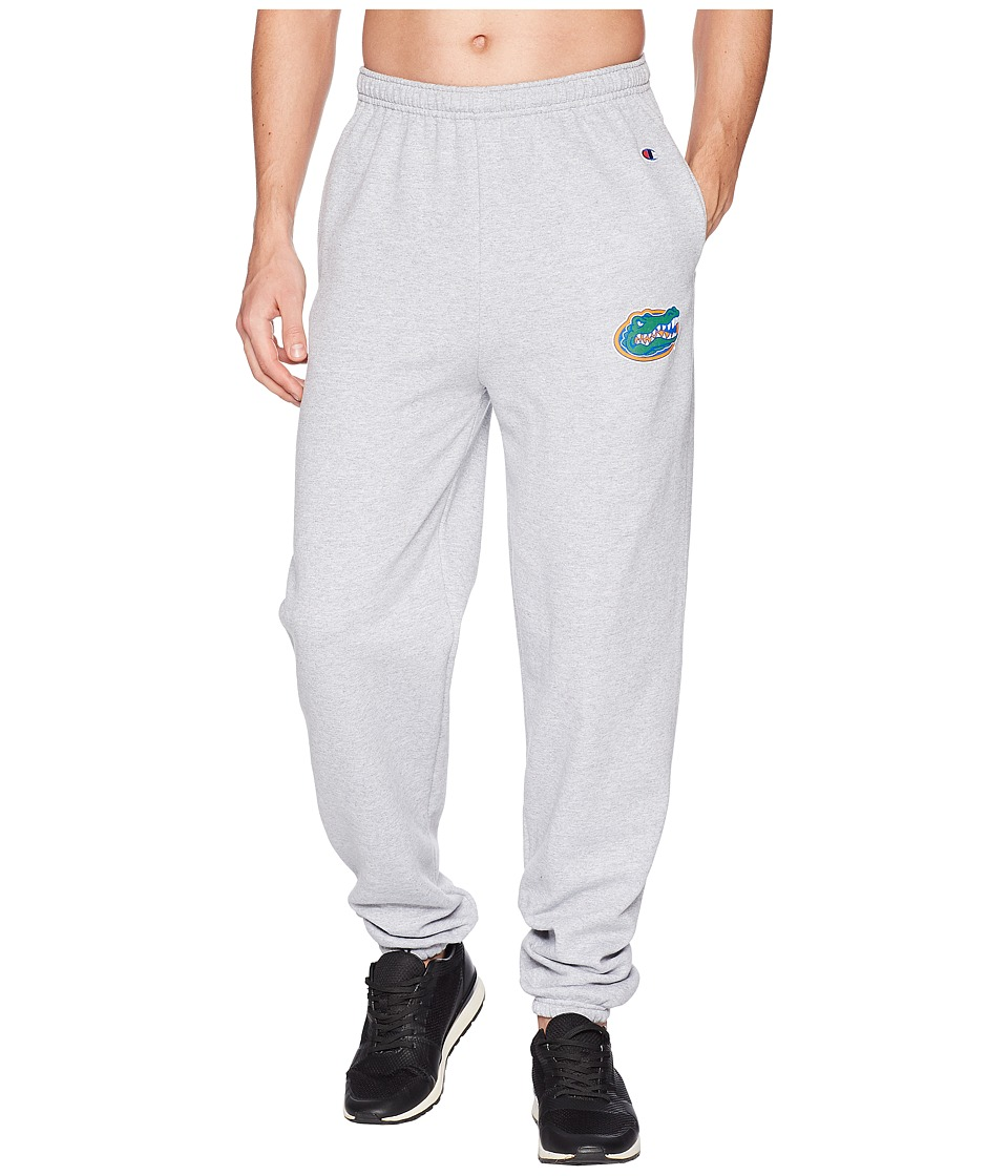 Champion College - Florida Gators Eco(r) Powerblend(r) Banded Pants (Heather Grey) Mens Casual Pants