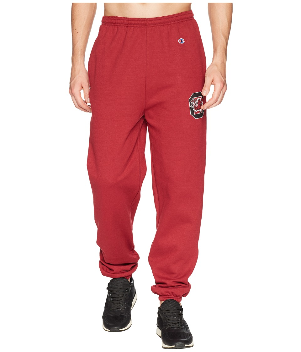 Champion College - South Carolina Gamecocks Eco(r) Powerblend(r) Banded Pants (Maroon) Mens Casual Pants