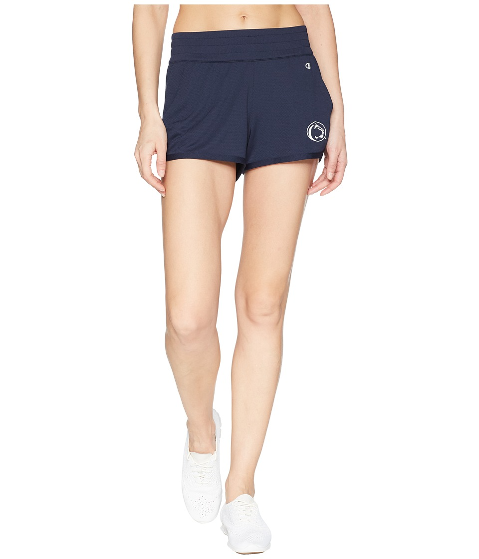 Champion College - Penn State Nittany Lions Endurance Shorts (Navy) Womens Shorts