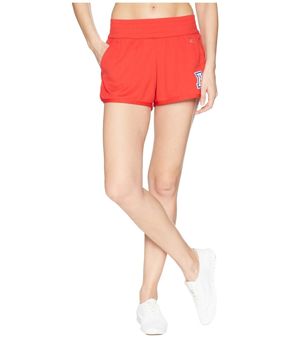 Champion College - Arizona Wildcats Endurance Shorts (Scarlet) Womens Shorts