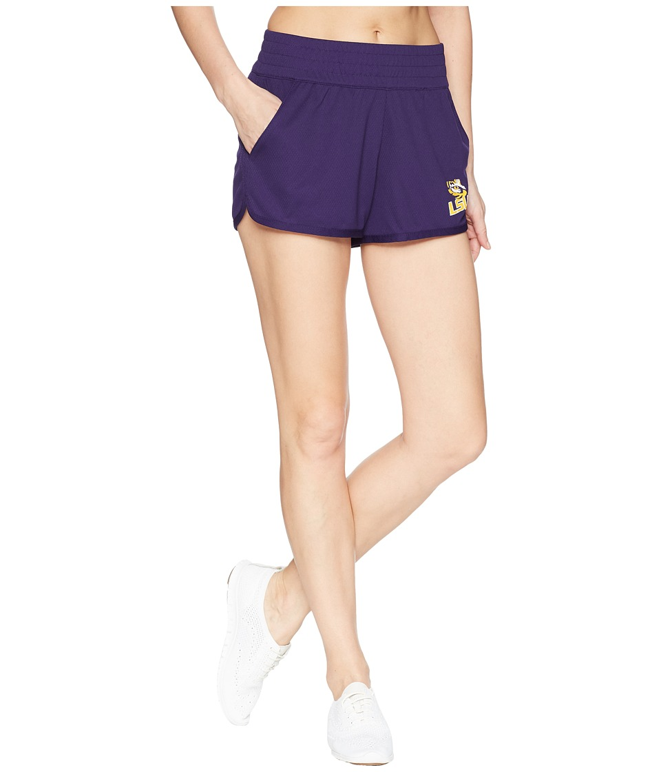 Champion College - LSU Tigers Endurance Shorts (Champion Purple) Womens Shorts