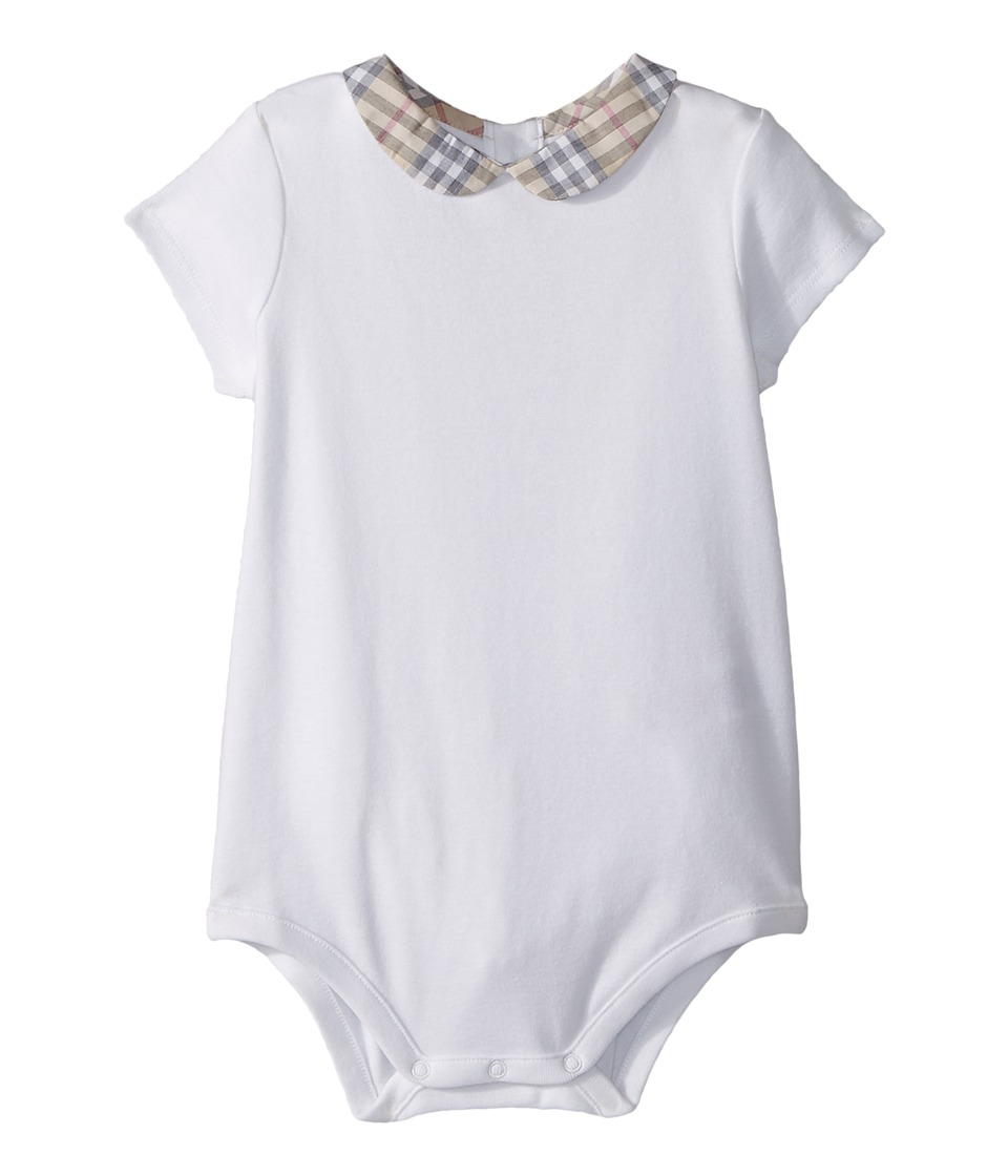Burberry Kids - Izzy AAKIE Top (Infant) (White) Kids Clothing