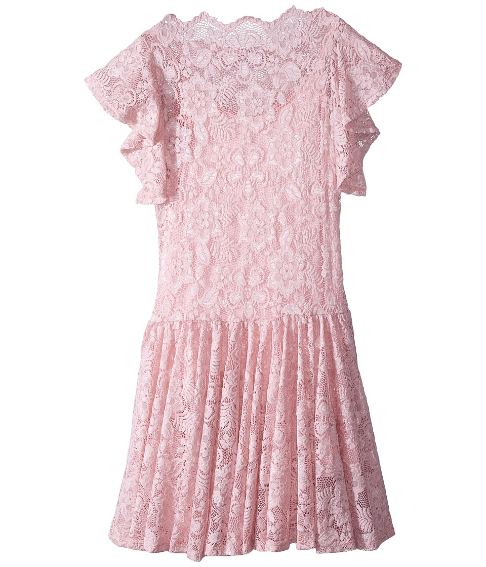 fiveloaves twofish - Uptown Dress (Big Kids) (Pink) Girls Dress