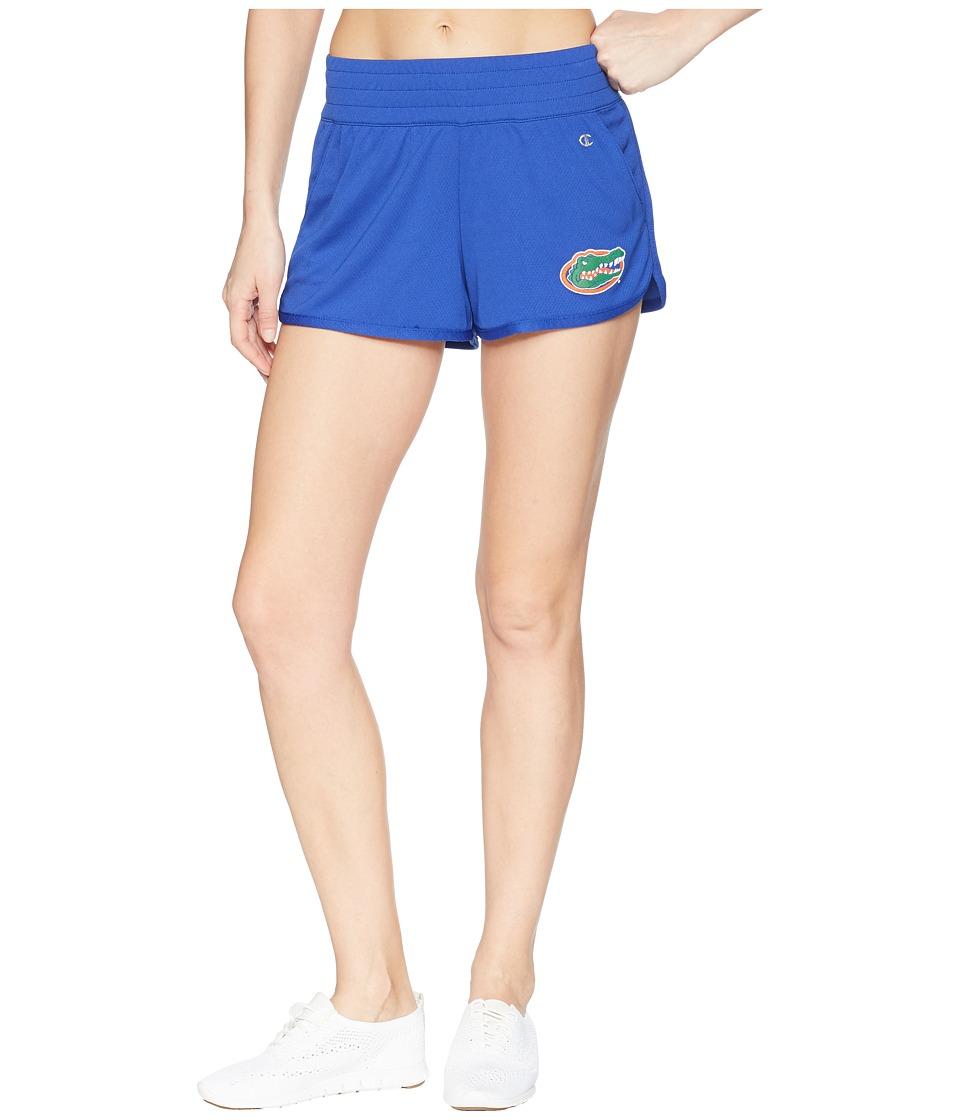 Champion College - Florida Gators Endurance Shorts (Royal) Womens Shorts