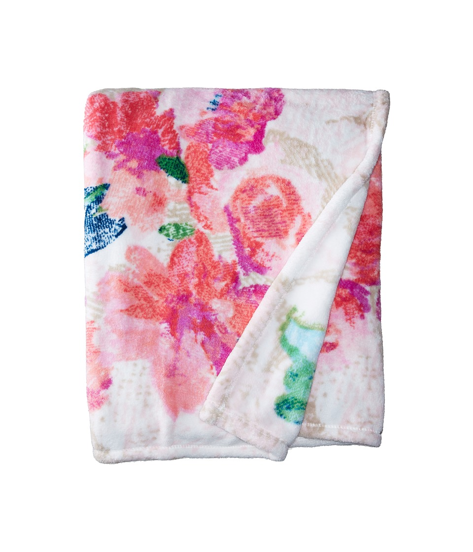 Vera Bradley - Super Soft Throw Blanket (Superbloom) Blankets