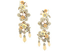 Marchesa Force of Nature Chandelier Floral Earrings