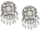 Marchesa Lighter Than Air Cluster Button Earrings