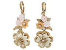 Marchesa Force of Nature Medium Double Drop Earrings