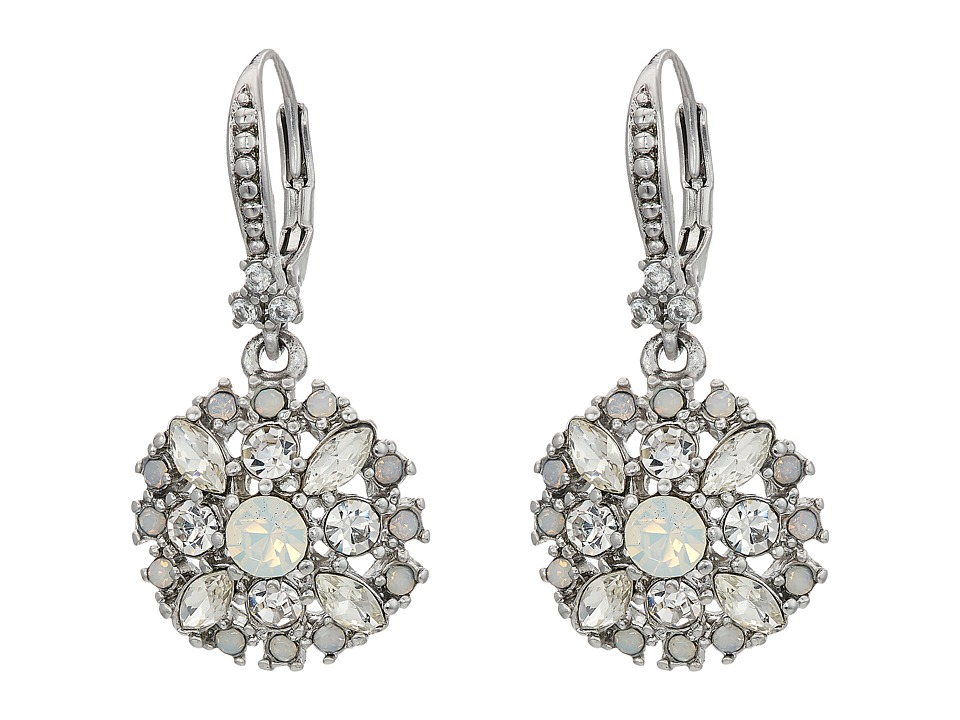 Marchesa - Lighter Than Air Small Drop Earrings (White Multi) Earring