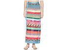 Mary Katrantzou Evaris Skirt Fira Stripe Knit Cover-Up