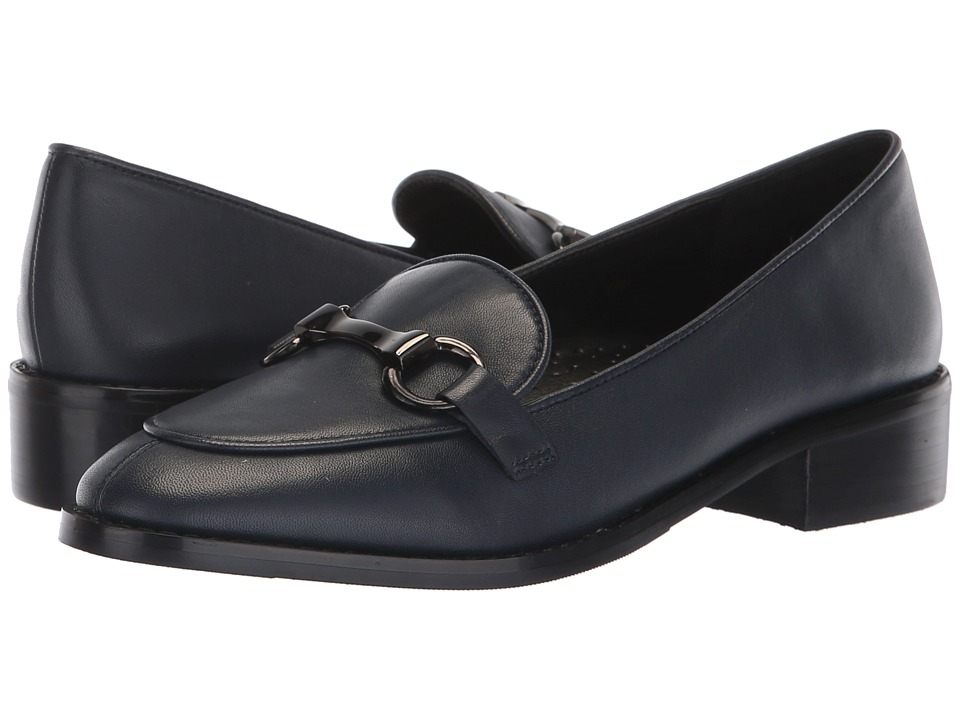 Vaneli Adora (Navy Nappa/Gunmetal Trim) Slip-On Shoes