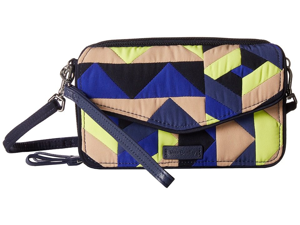 Vera Bradley - Iconic RFID All-In-One Crossbody (Classic Navy) Cross Body Handbags