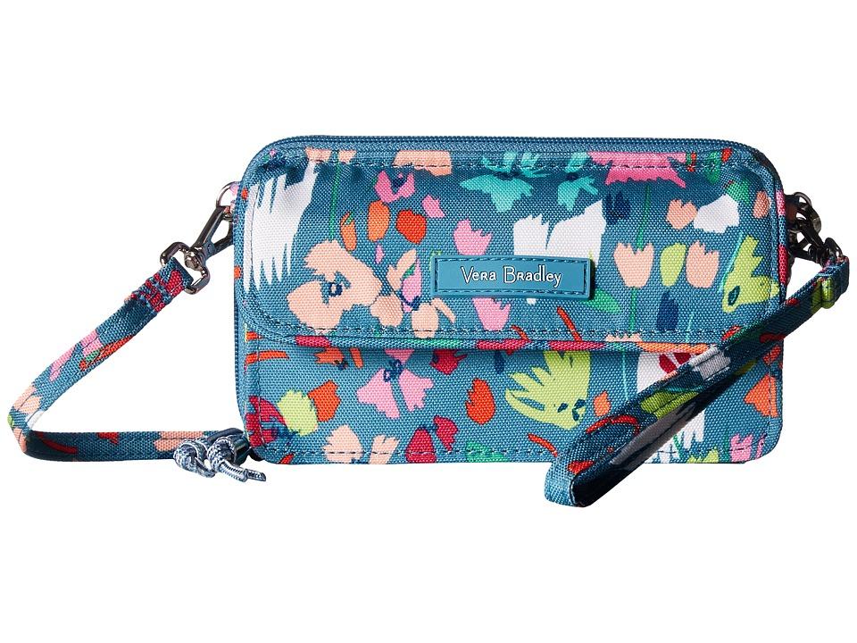 Vera Bradley - Lighten Up RFID All-In-One Crossbody (Superbloom Sketch) Cross Body Handbags