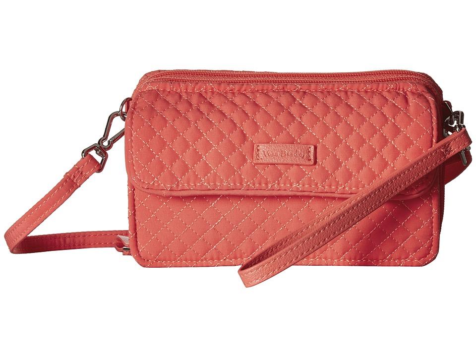 Vera Bradley Iconic RFID All-In-One Crossbody (Coral Reef) Cross Body Handbags