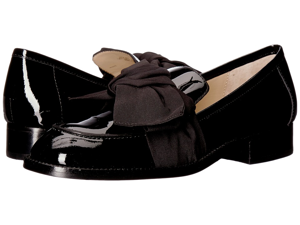 Botkier Violet Loafer (Black Patent) Women's Slip-on Dress Shoes