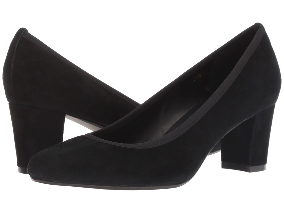 Vaneli Dacy (Black Suede) Women's Shoes