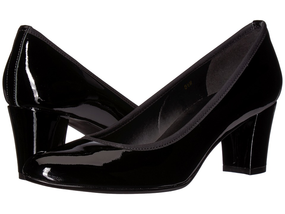 Vaneli Dacy (Black Patent) Women's Shoes