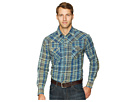 Wrangler Retro Premium Long Sleeve Plaid Snap