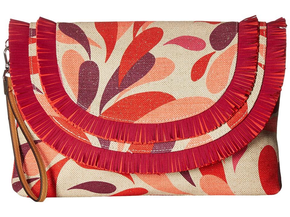 Vera Bradley - Fringed Wristlet (Summer Splash) Wristlet Handbags
