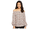 LAUREN Ralph Lauren LAUREN Ralph Lauren Petite Ruffled-Cuff Floral Jersey Top