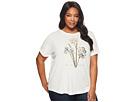 LAUREN Ralph Lauren LAUREN Ralph Lauren Plus Size Floral Linen-Blend T-Shirt
