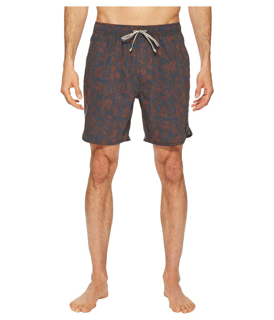 Captain Fin - Tropical Wonder Boardshorts (Rust) Mens Swimwear