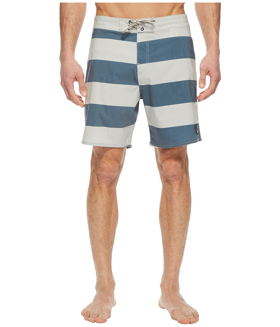 Captain Fin - El Bull Boardshorts (Blue) Mens Swimwear