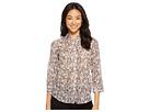 LAUREN Ralph Lauren LAUREN Ralph Lauren Petite Floral Cotton-Silk Shirt